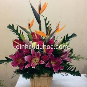 dạy cắm hoa theo chủ đề mở hiệu kinh doanh (12)